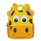 Yeelan Bolsa de escuela impermeable / mochila para niños (Jirafa de gran tamaño)