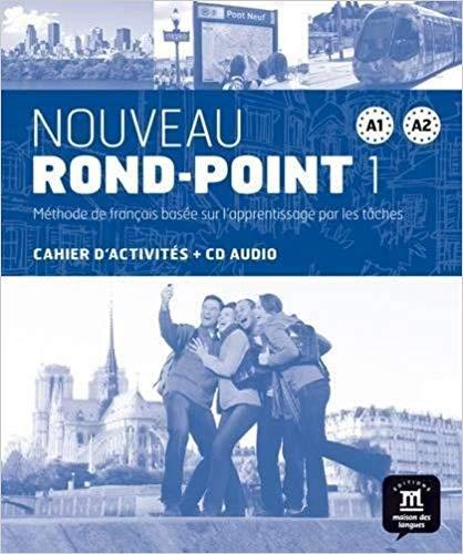 Nouveau Rond-Point 1 : Cahier d'activités A1-A2 (1CD audio)