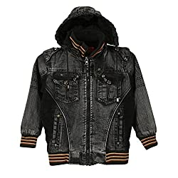 Lilliput Boys Jackets (8907264031752_Black_5-6 Years)