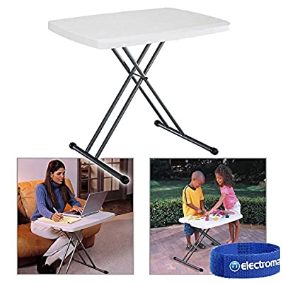 White Foldable Outdoor Garden Party Table BBQ Dining Caravan Furniture Portab... - cheap UK light store.