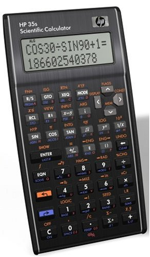 HP 35S Calcolatrice Scientifica, nero