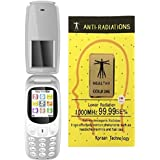 IKALL K3312 Dual Sim Flip Mobile With Vibration Feature, 800 MAh Battery Capacity With Anti-Radiation Sticker (Grey)