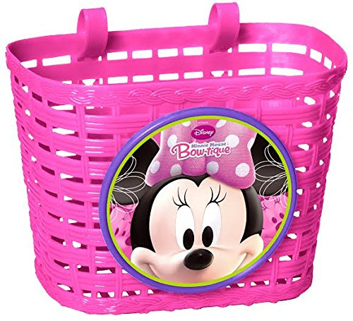 Maus Kinder Fahrradtasche Lenkertasche Fahrrad Korb Rosa (Minnie Maus-korb)