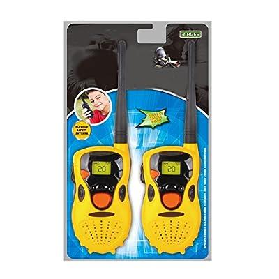 MAJGLGE 2Pcs Kids Handheld Toys Walkie Outdoor Talkies Children Gifts Games Funny Toy - Yellow