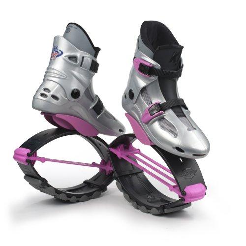 KangooJumps Power SE Chaussures de sport à rebond fille Multicolore Silver/Pink 32-35