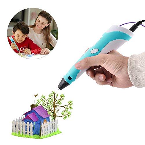 BANGBO 3D Stift Set für Kinder 3D Drucker Stift 3D Pen 3D Stifte mit+ PLA 3 Farben+LCD-Display kompatibel+PLA ABS-Modus Optionen für Bastler zu kritzeleien,Erwachsene, basteln, malen und 3D drücken