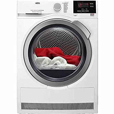 AEG T6DBG822N 6000 Series ProSense 8kg Freestanding Condenser Tumble Dryer-White by AEG