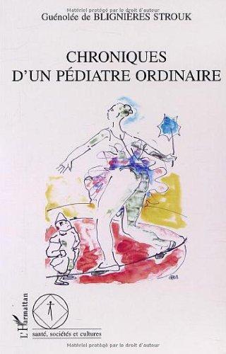 Chroniques d'un pediatre ordinaire