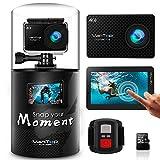 VanTop Moment 4 Caméra Sport 4K WiFi avec Écran...