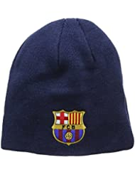 Unisex Beanie / Mütze / Strickmütze mit FC Barcelona Logo