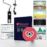 Tone's Stone Système de biorésonance (édition familiale): logiciels et jeux, relaxation, méditation, techniques de respiration contre l'anxiété et le stress