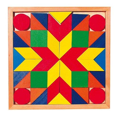 Preisvergleich Produktbild Mosaik-Legespiel mit 44 Mosaiksteinen