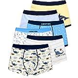 LeQeZe Boxer Garçon Lot de 6 Enfant Garcon Calecon Bébé Coton Culotte Pantalon...