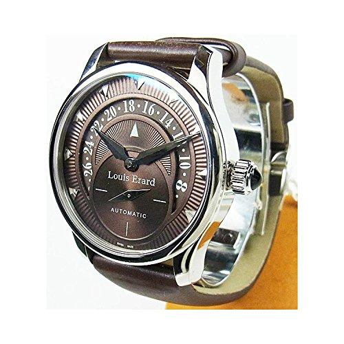 Orologio Louis Erard Unisex 92600AA03 Automatico Acciaio Quandrante Marrone Cinturino Pelle