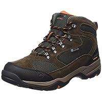 Hi-Tec Men Storm Waterproof High Rise Hiking Boots, Brown (Dark Chocolate/Dark Taupe/Burnt Orange 041), 7 UK (41 EU)