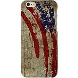 Casotec Vintage American Flag Design Hard Back Case Cover for Apple iPhone 6 / 6S
