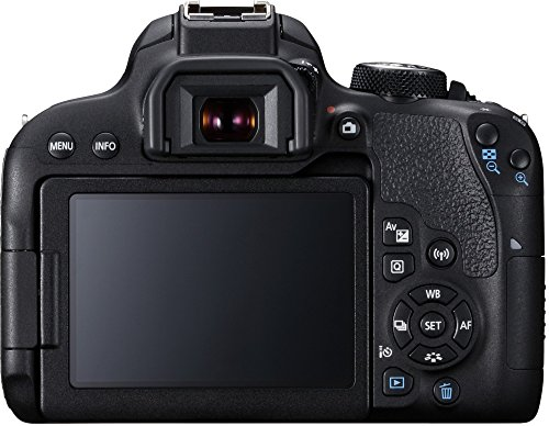 Canon EOS 800D 24.2MP Digital SLR Camera Body (Black)
