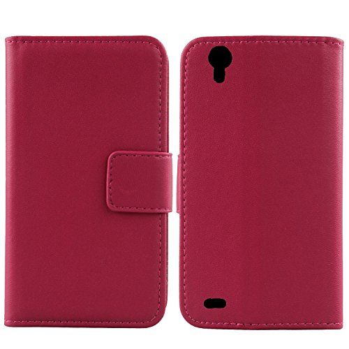 Gukas Design Echt Leder Tasche Für MEDION Life P5005 MD 99474 5
