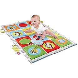 Haehne Bebé Gran Actividad Alfombras de Juego - Niños Rastreo Juguete Educativo Juegos De Aprendizaje Del Niño Soft Padded, 145*90cm