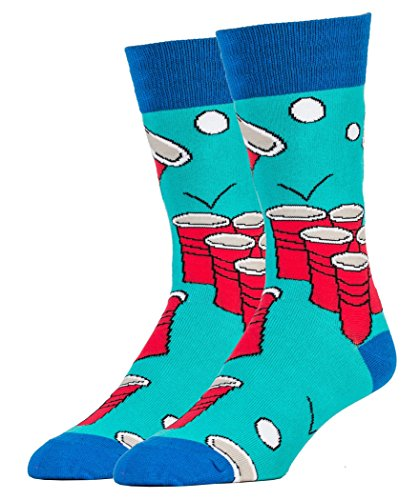 Oooh-Yeah-Mens-Breathable-Combed-Cotton-Crew-Socks-Funny