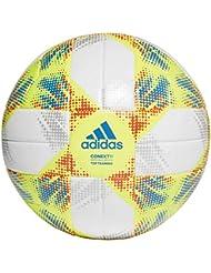 adidas DN8637, Pallone Uomo, Bianco Giallo/Solar Rosso/Football Blu, 5