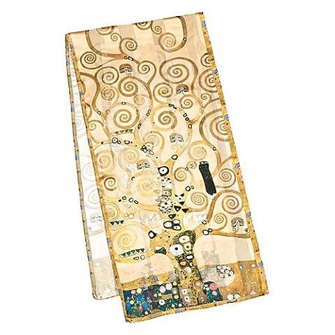 VON LILIENFELD Foulard en soie Gustav Klimt :