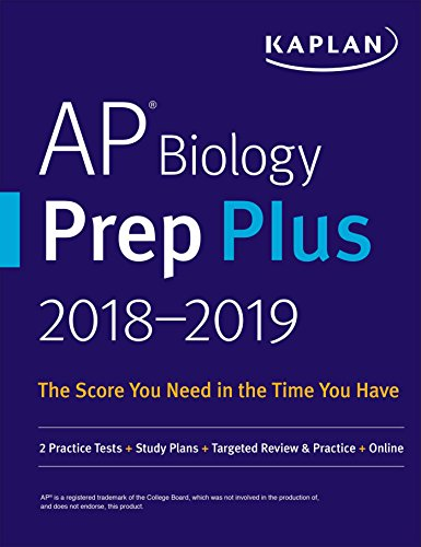 AP Biology Prep Plus 2018-2019 FREE for a limited time.: 2 Practice Tests + Study Plans + Targeted Review & Practice + Online (Kaplan Test Prep) (English Edition) (Ap Biology Test Prep)