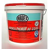 ARDEX AF2200 Universalklebstoff 14Kg, Dispersionsklebstoff zum Kleben von Bodenbelägen Innen