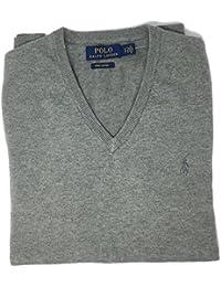 Ralph Lauren - Pull - Pull - Homme Gris Gris Medium