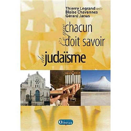 En dialogue avec le judaïsme : Ce que chacun doit savoir