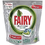Fairy Platinum Original Cápsulas de Lavavajillas - 32 unidades