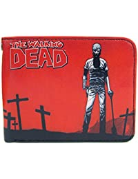 The Walking Dead - Cartera para hombre  Hombre Rojo rojo