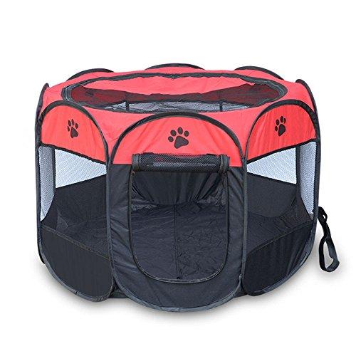 Xsqrgg recinto per cani grande box pieghevole per cani gatti cagnolini da interno o esterno facile da montare,002,s