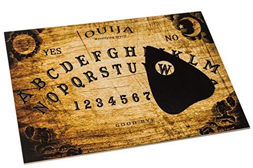 Wiccan Star Hölzernes Ouija Brett. Hexenbrett mit detaillierten anweisungen (in englisch). Ouija Board (Ouija-brett)