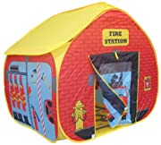 Folds away into a useful and compact carry case;Every little boy loves to pretend to be a fireman (especially those who love Fireman Sam and naughty Norman!!).;Unique printed play floor is designed as a rooms in a dolls house to encourage ext...