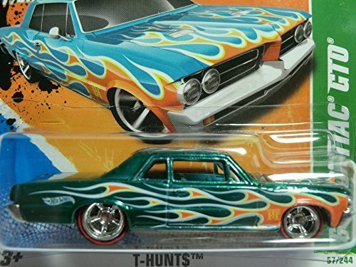 2011 Hot Wheels Super Treasure Hunts-057 '64 Pontiac Gto(2011 Treasure Hunt Series #7/15) by Hot Wheels (Gto Hot Wheels)