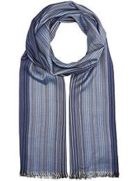 s.Oliver Herren Schal 97702916189, Blau (Blue Multicolored Stripes 54s1), One Size