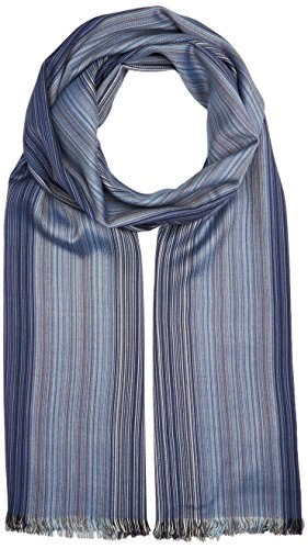 sOliver-Herren-Schal-97702916189-Blau-Blue-Multicolored-Stripes-54s1-One-Size