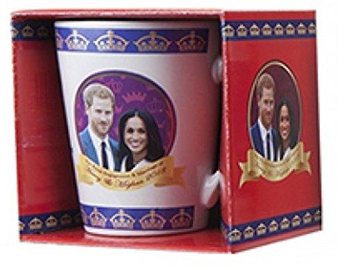 Royal Hochzeit V Form Becher kann 2018Prince Harry Meghan markle Souvenir Geschenk Tasse, keramik, weiß