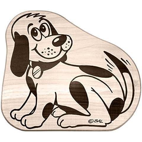 Hofmeister legno erano bambini-tagliere con forma di cane, in legno di faggio e acero-legno