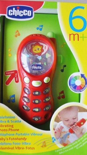 Chicco Gioco Telefonino Vibra e Scatta