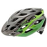 Alpina bike helmet D Alto grey Titanium-Green Size:52-57 by Alpina