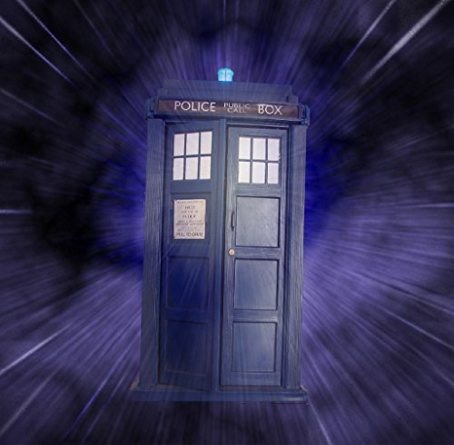 Keen Doctor Who Tardis Wand Poster Print|12 X 18 in Poster|kcp17