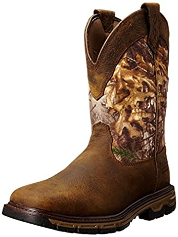 Ariat Conquest Pull On Men US 12 Brown Hunting Boot