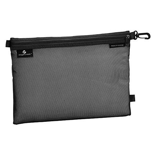 Eagle Creek Wasserabweisender Kulturbeutel Pack-It Original Sac Large platzsparende Packlösung mit Clip, schwarz
