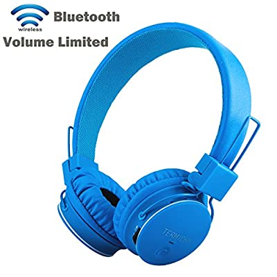 Multifunctional Foldable Portable Bluetooth Headset, Termichy? Wireless/Wired Dual-capable On-ear Stereo Headphone Support MicroSD Card / FM Radio Streaming & Built-in Microphone for Hands-free Calling for Smartphone, Tablet, PC, Mac and Laptop