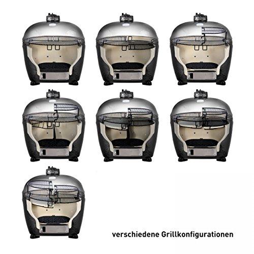 Primo OVAL 400 XL Keramik Grill Jack Daniel's Edition - 7