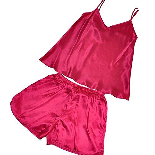 CHUNHUA Frau 100% Seide Pyjamaoberteil schließt weibliche Nachthemd Stück Trainingsanzug (Farbe optional) 2008 (shen meihong)