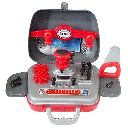 Preisvergleich Produktbild SFL Werkzeugkoffer Work-Box Werkzeugkasten Spielzeug Kinder-Rollenspiele Spielzeug Früherziehung Spielzeug für Jungen im Alter von 3 und Höher