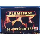 Flamefast Firelighters 28 packs of 24 = 672 For Fires Log burners & Stoves